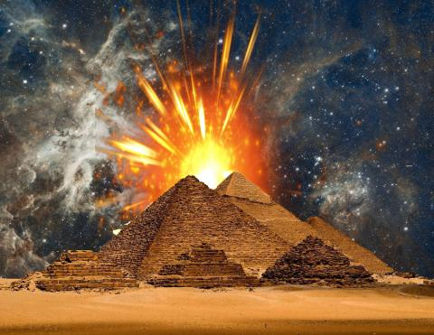 Were The Great Pyramids Once Used To Transmit Energy